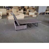 Tri-fold sofa bed mechanism