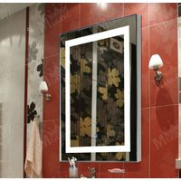 Bath LED Mirror bathroom accesories square Wall mirror