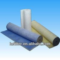AR-60 Fiberglass types Roll-O-Mat- white/ blue/green color with scrim backing by oil in it