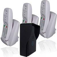 cheap 2.4G communications channel wireless voice doorbell(1v3)intercom system
