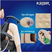 Breathable knitting far infrared fiber magnetic knee Brace support