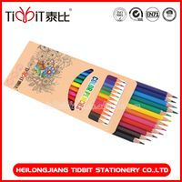 12 set color pencil sketch for kid stationery