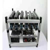 Crypto Coin Mining Rig 4500 Sols/s 210 MH/s Zcash ZEC Ethereum ETH 6x GTX 1080Ti