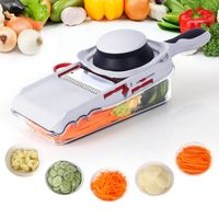 Lifewit Mandoline Slicer Set with Container & Food Holder