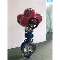 Customizable Wafer Type End Gear Double-Offset Butterfly Valve thumbnail image