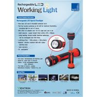 LED Rechargeable Working Light VTL-WL518