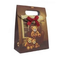 bear family paper bag