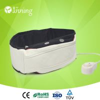 High grade portable neck back massager,electric shoulder machine,breathable slimming belt with zippe
