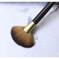 Individual Customize Synthetic Hair Fan Brush Makeup Brush
