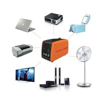 High Capacity Portable solar generator