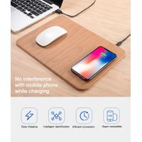 Popular Quick Charger Mouse Pad Charging QI Wireless Charger for Cell Phone thumbnail image