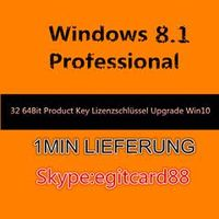 Windows 8 Professional 32/64 Bit OEM Key Email Delivery
