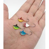 flat ice jig in winter fishing thumbnail image