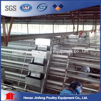 Q235 Steel Wire Used Layer Poultry Cages