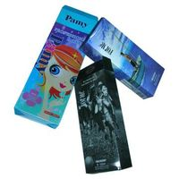 3D Lenticular Folding Box for Packing Cosmetic