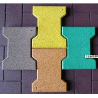 Sell Bone Type Rubber Flooring Tiles