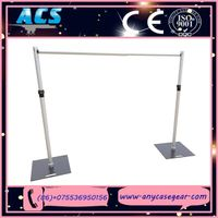 event decorations pipe and drape event backdrop adjustable pipe for wedding