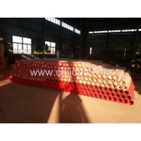 Schwing concrete pump pipe parts with F/M flange thumbnail image
