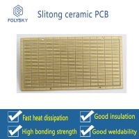 We supply double-sided ceramic circuit boards, proofing 3535LED ceramic circuit boards, factory outl