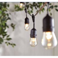 Garden Decorative E26 S14 Vintage Light Set KF45018