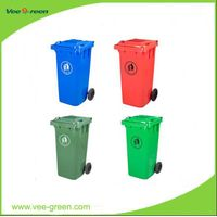 Plastic Recycling Bin for Outdoor Use