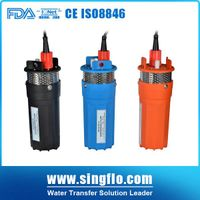 Singflo high quality YM2440-30 24v dc solar submersible pump for deep well thumbnail image