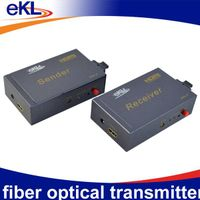 HD interface over Fiber Optical transmitter W/SC-SC, Fiber optic HD interface Transmitter/ Reciever thumbnail image