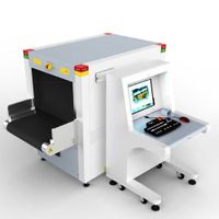 6550B X Ray System X-ray Baggage Scanner