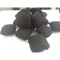Pillow charcoal briquette