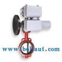 Motorized butterfly valve,centre line,flange,metallic sea