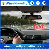 The First 2D Display Hud E300 Car Universal Head up Didplay OBD2 Hud Speed Mornitor Over Speed Warni