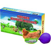 chicken blowing balloon toy fireworks from China thumbnail image