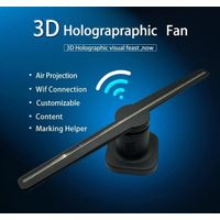 3D Hologram Holographic Projector 3D LED Fan for Advertising Display 45cm with Wifi