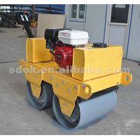 OKR-600C Walking type single steel wheel road roller,smooth wheel roller in machinery,reversible wal thumbnail image