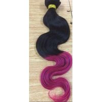 Two Tone Hair weft