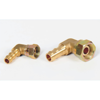 USA Parker brass hose fitting elbow hose barb femail brass adaptor thumbnail image
