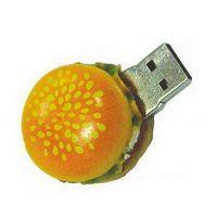 (Sell)Cute carton Hamburger Rubber USB