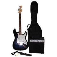 Electric Guitar Set Blue