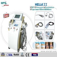Multifunctional machine IPL&E-light & RF & laser with 3 handles