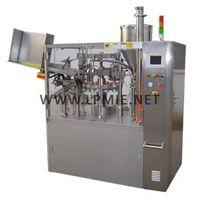 Auto cosmetic cream filling& Sealing Machine,soft tube fill&sealing,packing machine thumbnail image