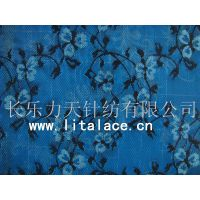 lace fabric with wintersweet pattern M1383 thumbnail image