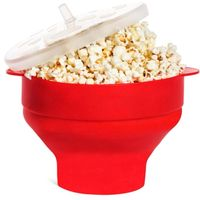 Hot Sale New Product Microwave Collapsible Popcorn Silicone Bowl