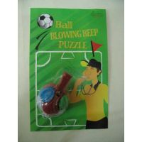 Puzzel ball with whistle thumbnail image