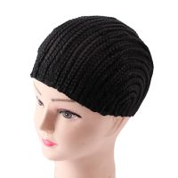 Cornrows Cap For Easier Making Wig Synthetic Hair Braided Wig Cap Net For Black Women