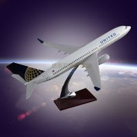 Customized Airplane Model OEM Boeing 737 United Airlines Model Aircraft Desktop Gift