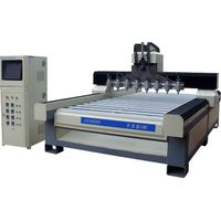 Eight Heads CNC Router for Relief Engraving SC 2030X8