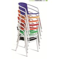 Colorful Wire Outdoor Chairs On Sale XRB-035 thumbnail image
