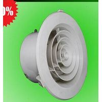 abs extruded plastic ceiling light round air grilles