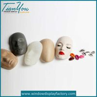 Decoration Fake Party Resin Face Props