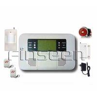 GSM & Telephone dual network SMS Wireless Home Security Burglar Alarm System FS-AMG4210